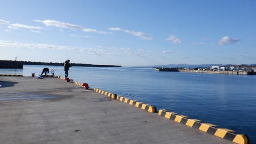 釣り 大津 港